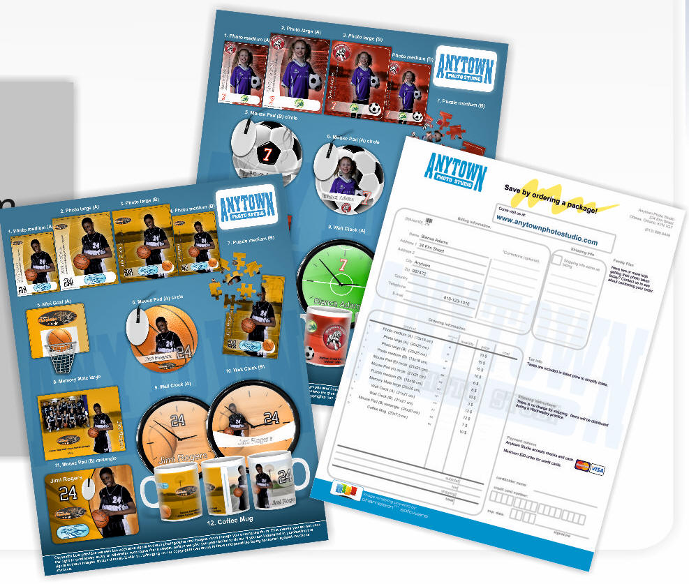 Sports Photography Order Form Templates Ibovnathandedecker